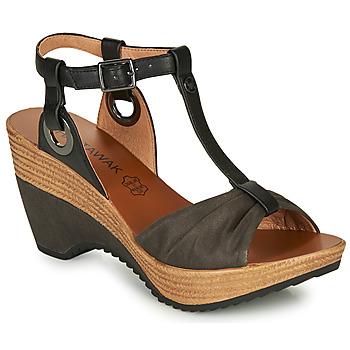 Sapatos Mulher Sandálias Chattawak JENNY Preto