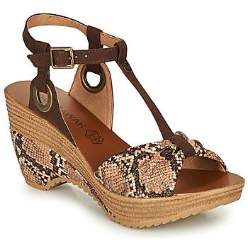 Sapatos Mulher Sandálias Chattawak JENNY Cinza