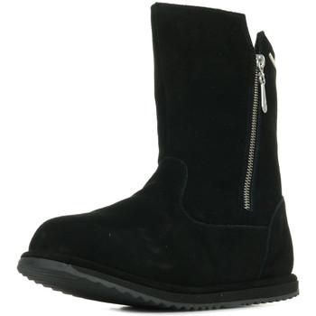 Sapatos Rapariga Botas EMU Gravelly Teens Preto