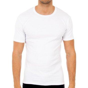 Roupa de interior Homem Camisolas de interior Abanderado Pack-3 camisetas m/c invierno blan Branco