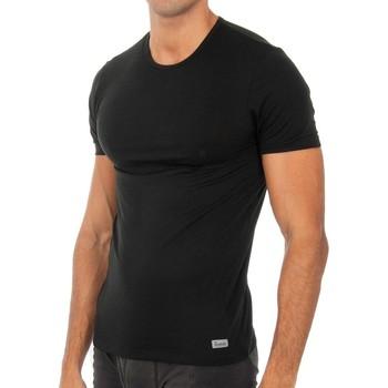 Roupa de interior Homem Camisolas de interior Abanderado Camiseta m.corta Termal Tech Preto