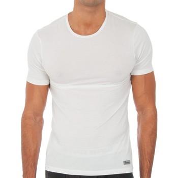 Roupa de interior Homem Camisolas de interior Abanderado Camiseta m.corta Termal Tech Branco