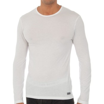 Roupa de interior Homem Camisolas de interior Abanderado Camiseta m.larga Termal Tech Branco