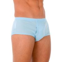 Roupa de interior Homem Boxer Abanderado Pack-6 slips caballero blanco Azul