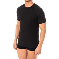 Roupa de interior Homem Camisolas de interior Abanderado Camiseta X-Temp m/corta Preto