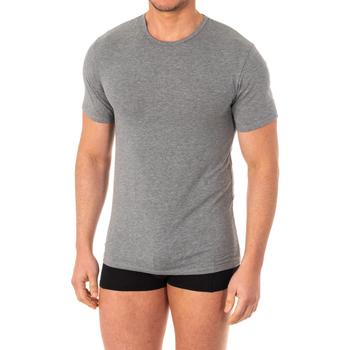 Roupa de interior Homem Camisolas de interior Abanderado Camiseta X-Temp m/corta Cinza