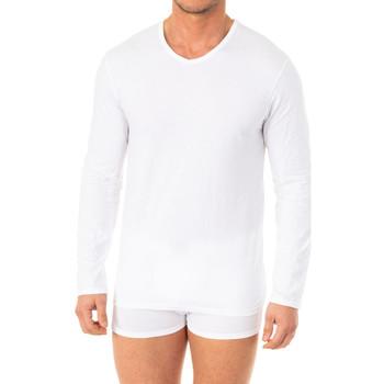 Roupa de interior Homem Camisolas de interior Abanderado Camiseta X-Temp m/larga Branco
