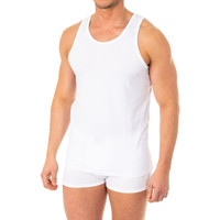 Roupa de interior Homem Camisolas de interior Abanderado Camiseta X-Temp de tirantes Branco