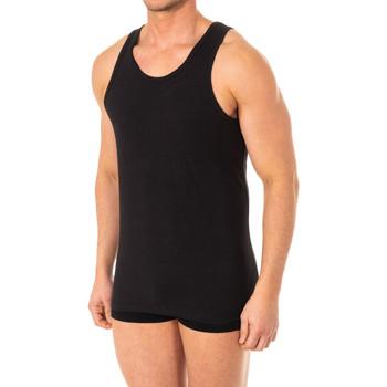 Roupa de interior Homem Camisolas de interior Abanderado Camiseta X-Temp de tirantes Preto