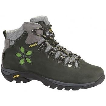 Sapatos Mulher Sapatos de caminhada Chiruca Botas  Monique 01 Goretex Verde