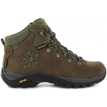 Sapatos Mulher Sapatos de caminhada Chiruca Botas  Monique 12 Gore-Tex Castanho