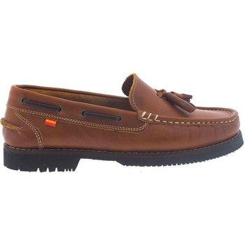 Sapatos Mulher Mocassins La Valenciana Zapatos Apache  Montijo Miel Amarelo