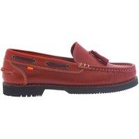 Sapatos Mulher Mocassins La Valenciana Zapatos Apache  Montijo Rojo Vermelho