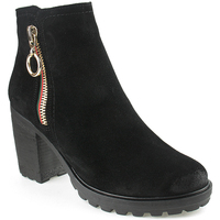 Sapatos Mulher Botins Oi L Ankle boots Lady Preto