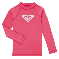 Roupa de interior Rapariga Camisolas de interior Roxy WHOLE HEARTED SS Rosa