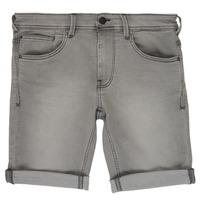 Textil Rapaz Shorts / Bermudas Teddy Smith SCOTTY 3 Cinza