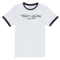 Textil Rapaz T-Shirt mangas curtas Teddy Smith TICLASS 3 Branco