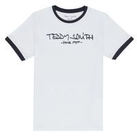 Textil Rapaz T-Shirt mangas curtas Teddy Smith TICLASS 3 Branco