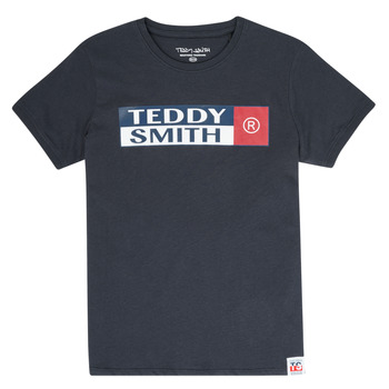 Textil Rapaz T-Shirt mangas curtas Teddy Smith TOZO Marinho