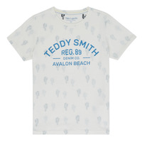 Textil Rapaz T-Shirt mangas curtas Teddy Smith ERNEST Bege