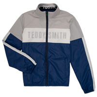 Textil Rapaz Jaquetas Teddy Smith HERMAN Cinza / Marinho