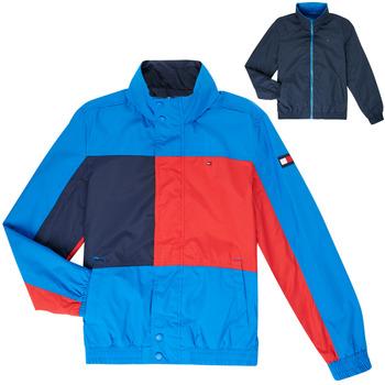 Textil Rapaz Jaquetas Tommy Hilfiger MARION Azul