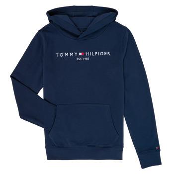 Textil Rapaz Sweats Tommy Hilfiger  Marinho
