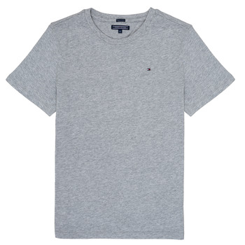 Textil Rapaz T-Shirt mangas curtas Tommy Hilfiger  Cinza