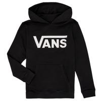 Textil Rapaz Sweats Vans BY VANS CLASSIC HOODIE Preto