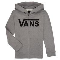 Textil Rapaz Sweats Vans BY VANS CLASSIC ZIP HOODIE Cinza