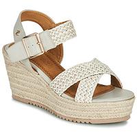 Sapatos Mulher Sandálias Refresh LILIOU Bege