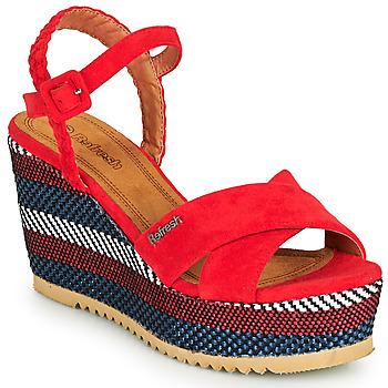 Sapatos Mulher Sandálias Refresh LOCKAL Vermelho