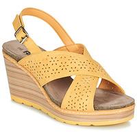 Sapatos Mulher Sandálias Refresh RILO Amarelo