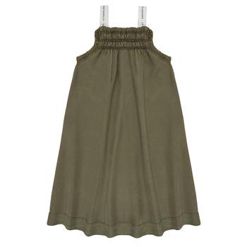 Textil Rapariga Vestidos curtos Le Temps des Cerises BIJA Cáqui