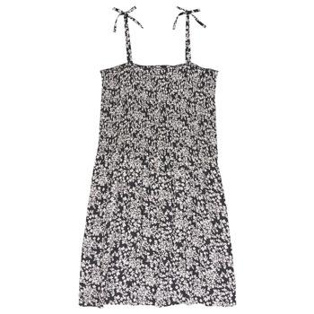 Textil Rapariga Vestidos curtos Le Temps des Cerises PUNTA Preto / Branco