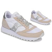 Sapatos Sapatilhas Saucony Jazz Vintage Branco / Bege / Prata
