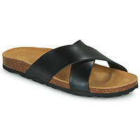 Sapatos Mulher Chinelos Only MADISON CROSS LEATHER Preto