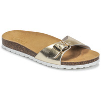 Sapatos Mulher Chinelos Only MADISON METALLIC LEATHER Ouro