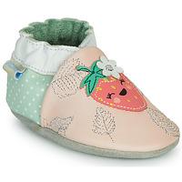 Sapatos Rapariga Chinelos Robeez FRUIT'S PARTY Rosa / Verde