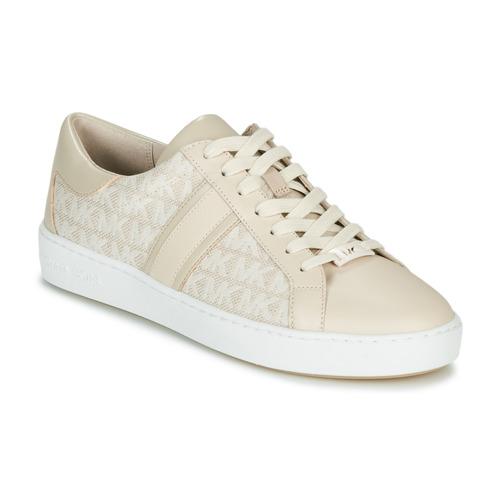 Sapatos Mulher Sapatilhas MICHAEL Michael Kors KEATON STRIPE Bege