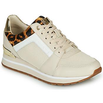 Sapatos Mulher Sapatilhas MICHAEL Michael Kors BILLIE Bege / Leopardo