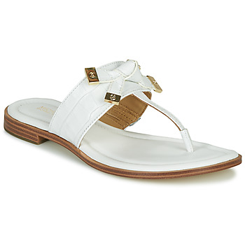 Sapatos Mulher Chinelos MICHAEL Michael Kors RIPLEY THONG Branco