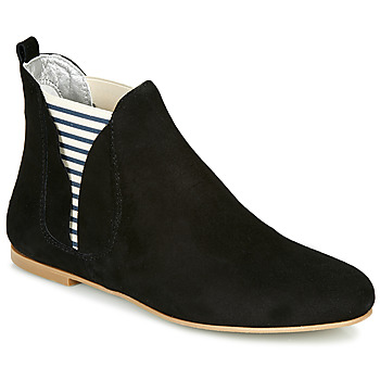 Sapatos Mulher Botas baixas Ippon Vintage PATCH FLYBOAT Preto