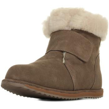 Sapatos Rapariga Botas de neve EMU Sommers Kids Castanho