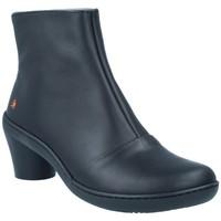 Sapatos Mulher Botins Art The Art Company Art 1442 Botines Casual con Tacón de Mujer preto