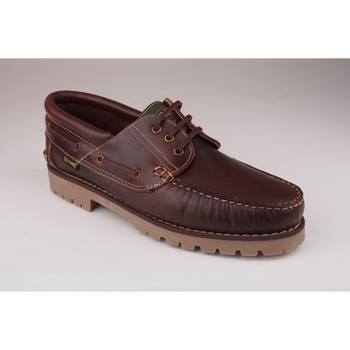 Sapatos Homem Richelieu Fleximax Sapato cavaleiro  3500 marron Castanho