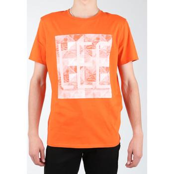 Textil Homem T-shirts e Pólos Lee Logo Tee L63GAIMO orange