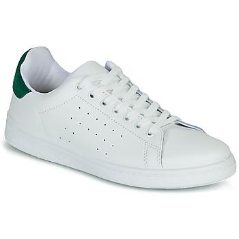 Sapatos Mulher Sapatilhas Yurban SATURNA Branco / Verde