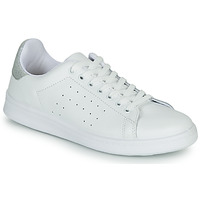 Sapatos Mulher Sapatilhas Yurban SATURNA Branco / Prata