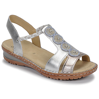 Sapatos Mulher Sandálias Ara HAWAII Branco / Prata